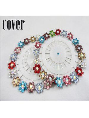Hijab pins-floral multi