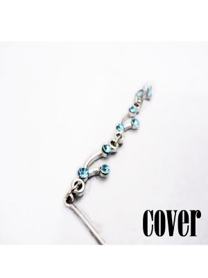 Hijab pin-blue