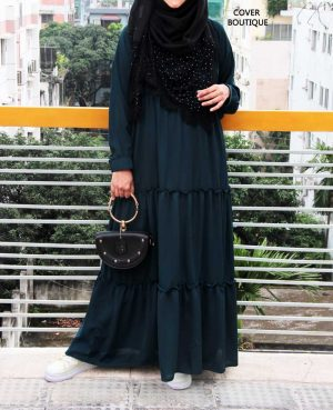 Fabiyana Gown (teal green) – size 52 (Length-52, Body-40)