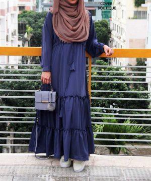 Safina Gown (cornflower blue)