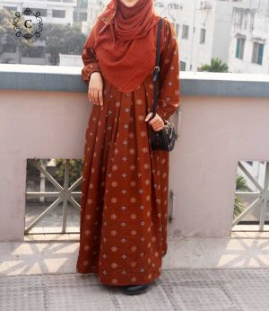 Sana Gown (brown)