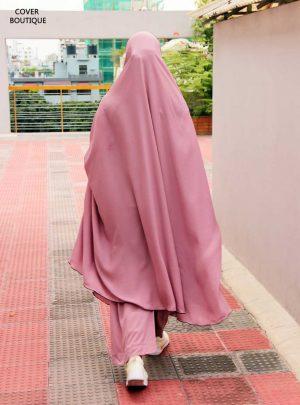 Niquab Khimar-Palazzo Set (baby pink)