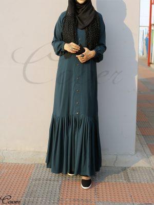 Nusaiba Gown (teal green)