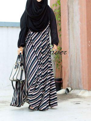 Lamia Frock (stripes)