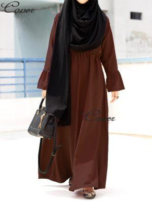 Umaiza Gown (coffee)