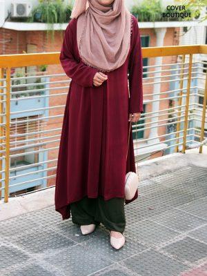 Nafia Kurti (maroon)