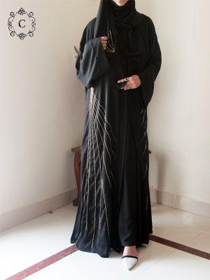 Tahniya Kimono Set (black)