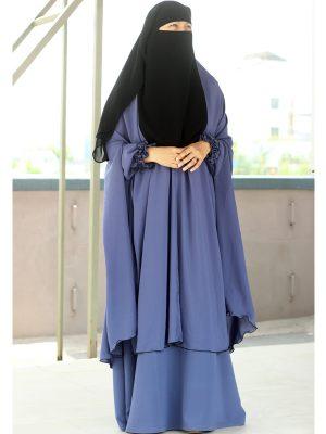 Signature Jilbab Set (cornflower blue)