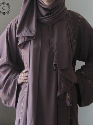 Tahniya Kimono Set (chestnut)