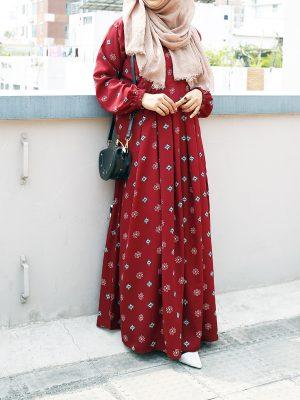 Sana Gown (maroon)