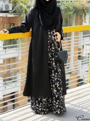 Semi Long Coat (black)