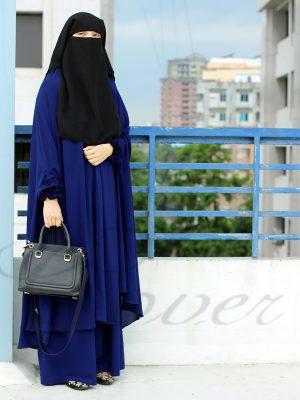 Signature Jilbab Set (blue)