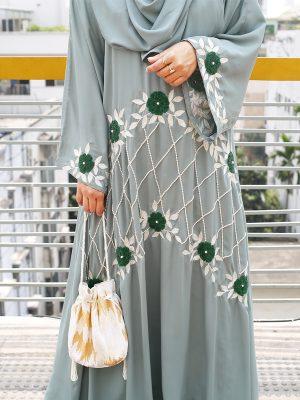 Farzana Burkha Set (mint)