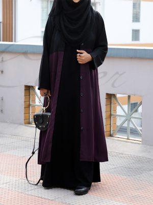 Winter Coat (purple)