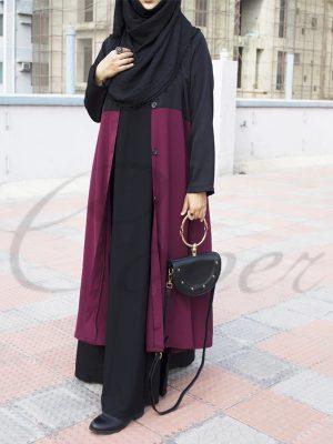 Winter Coat (maroon)