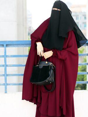 Signature Jilbab Set (maroon)