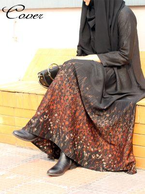 Ayesha Gown (Nida-brown)
