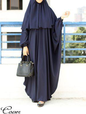 Noor Jilbab (navy)