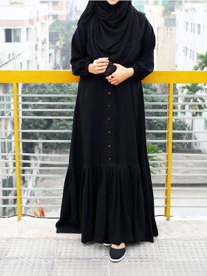 Nusaiba Gown (black)