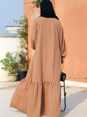 Nusaiba Gown (Biscuit)