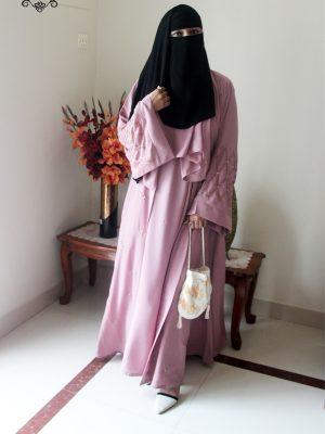Tahniya Kimono Set (pink)