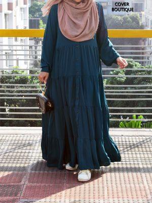 Ariba Gown (teal green)