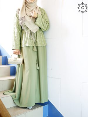 Nafisa Gown (lime)