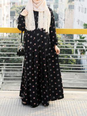 Sana Gown (black)