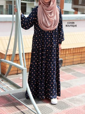 Ariba Gown (polka)