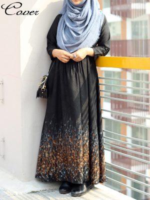 Ayesha Gown (Nida-blue)