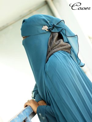 Nora Gown (teal blue)