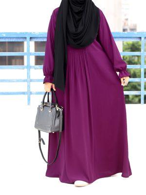 Ayesha Gown (deep magenta)