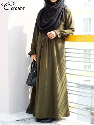 Ayesha Gown (olive)