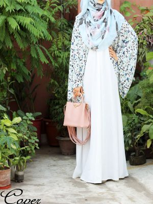 Rahma Abaya (white)