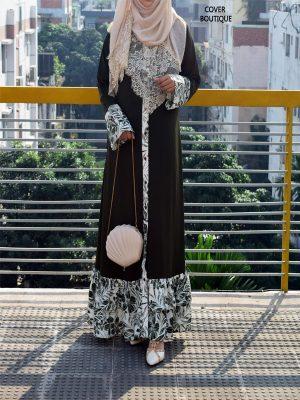 Marlin Dress (olive print)