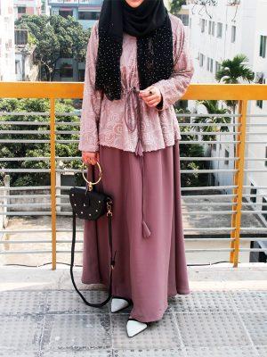 Nafisa Gown (chestnut)