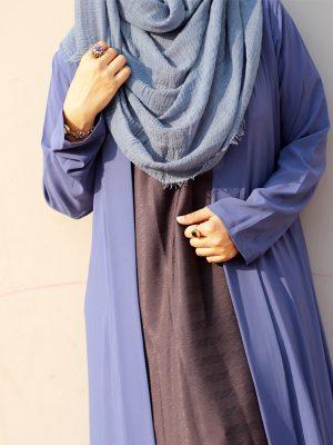 Sara Shrug Long (cornflower blue)
