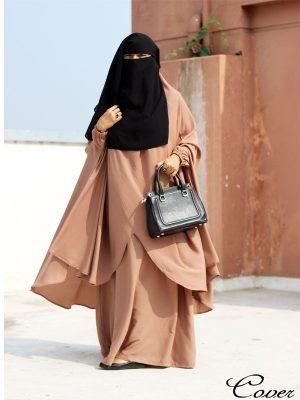 Sanjida Jilbab Set (biscuit)