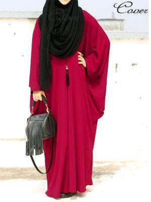 Habiba Kaftan (cranberry)
