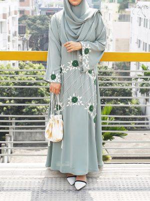 Farzana Burqa Set (mint)