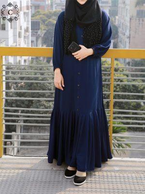 Nusaiba Gown (navy blue)