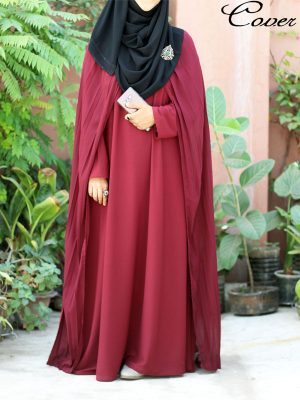 Nora Gown (maroon)