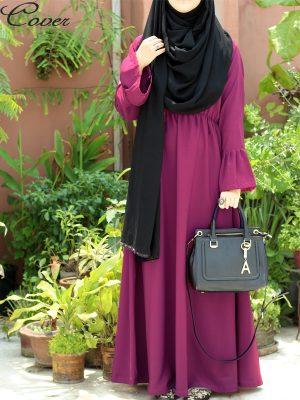 Umaiza Gown (magenta)