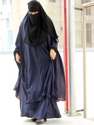 Signature Jilbab Set (navy blue)