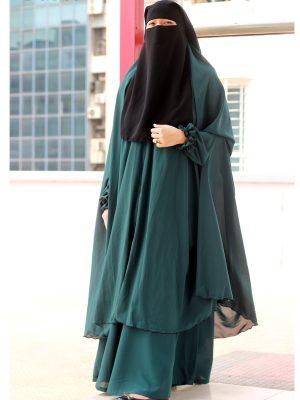 Signature Jilbab Set (teal green)