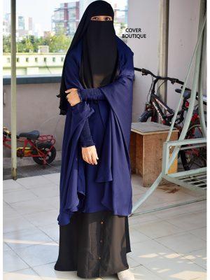 Hasana Jilbab Set (blue)