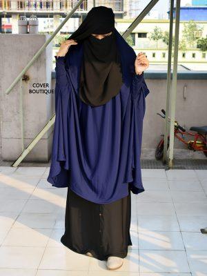 Rafiya Jilbab Set (blue)