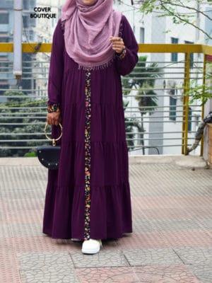 Ariba Gown (Plum)