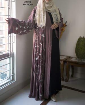 Scarlet Abaya