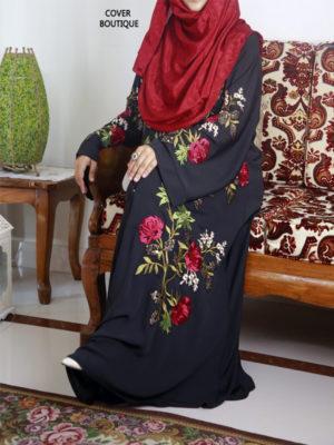 Scarlet Abaya (black)